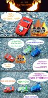 CARS Comic - The Stereo by Zhon