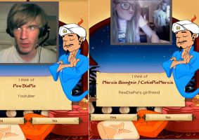 I got PewDiePie and Mariza! :D by crystalthehedgehog42