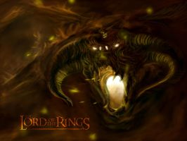Lord of the Rings Balrog by Quinton-Watson