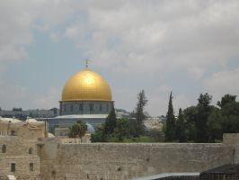 Jerusalem :Dome of the Rock by XxgalchanxX