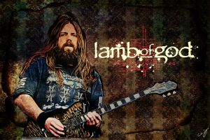 Lamb Of God: Mark Morton by nicollearl