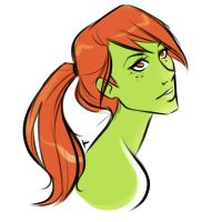 Ponytail Miss Martian by KthaP