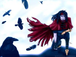 Vincent Valentine by NeuroticCrow