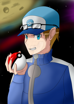 Shavier the Pokemon Trainer by SonictheHedgehog1