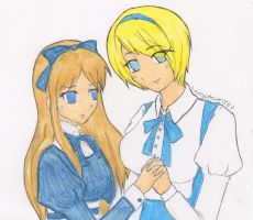 Belarus and Ukraine by Shimizu--chan