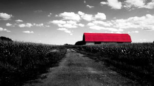 Red Barn by jb00bs