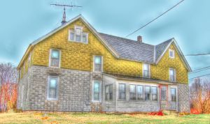 House, HDR by Lectrichead