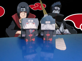 Cubeecraft itachi kisame by RatedrCarlos