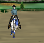 Trainin Show Entry for Cariannarz by TimberlakeLaneEC