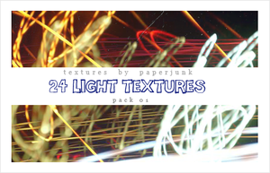 Textures Pack 01: Lights by PaperJunk