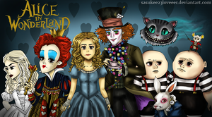 Alice in Wonderland Movie by sasukee23loveeer