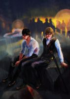 Shinsengumi. After work by Jade-Rotten