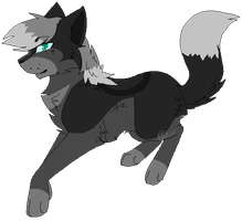 TBT:C:Floating Wolfheart by Kimi-Celine