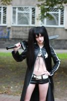 Black Rock Shooter by Meffisto29