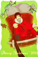 Yamamoto-Merry Christmas 2010 by Quentina-Psychi