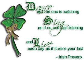 Simple Wisdom an Irish Proverb by iamtequila