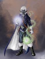 Drow Mage by TBPlayer