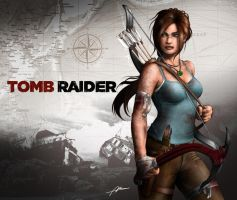 Lara Croft Tomb Raider Reborn Contest Entry 1 by Abrem008