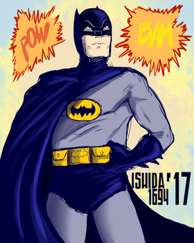 RIP Adam West by Ishida1694