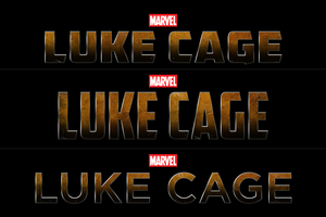 Marvel's LUKE CAGE - LOGO II by MrSteiners