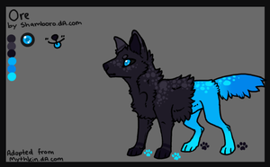 Ore reference sheet by Shamboro