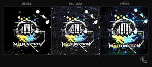 Malfunktion EDM Logo and Stylized Designs by ameshin