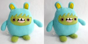 Yubba - Monchi Monster Plush by yumcha