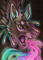 ACEO Lightbringer by CanisAlbus