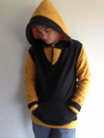 Soul Eater Fleece Cosplay Hoodie Front by Weeaboo-Warehouse