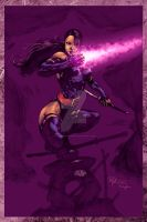 Psylocke by Philip Tan by StephenSchaffer