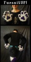 paw set commission by Grion