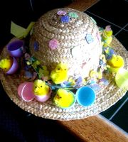 Easter bonnet by sora96