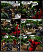 Action Force comic color gig 3 by roadkillblues