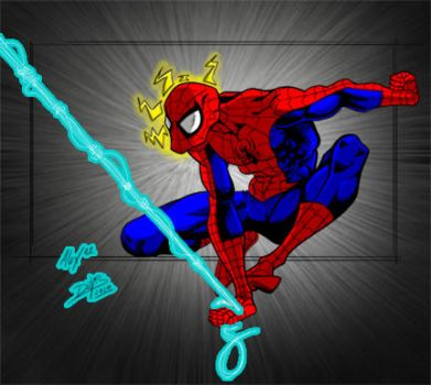 Spidey Swings into Action by superman200er0