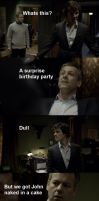 Sherlock's Surprise Birthday by BethXP