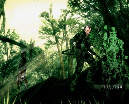MGS3: The Fear by DjG-Wp