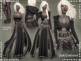 Dark Confessor Outfit by Elvina-Ewing