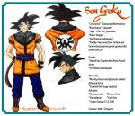 CROSSOVER Character Sheet Son Goku by GND-KicaCris
