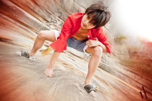 Monkey D. Luffy (One Piece) by AndyWana