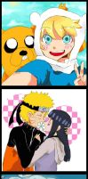 Adventure time - Naruto- Avatar by Pepsiboarn