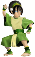 EXTREME Coloring!: Toph by THEAT0M1KMONKEY
