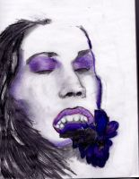 Violet Beauty by SeleanRidley