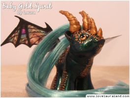 Baby Gold Spirit by lovelauraland