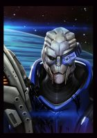 Garrus by Webcomicfan