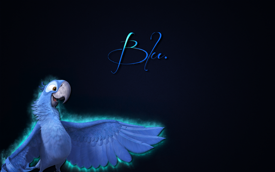 Blu Wallpaper by SOM3D4Y