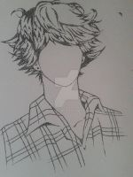 Pointilism 'Who is he?' by HiruAru