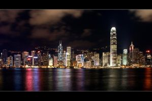 Goodnight Hong Kong by AndrewToPhotography