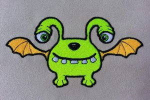 Monster02 Embroidery by Kavel-WB