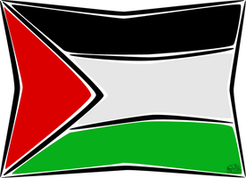 Palestine Flag by iAiisha