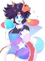 Space Monster Paws by QueenAshi